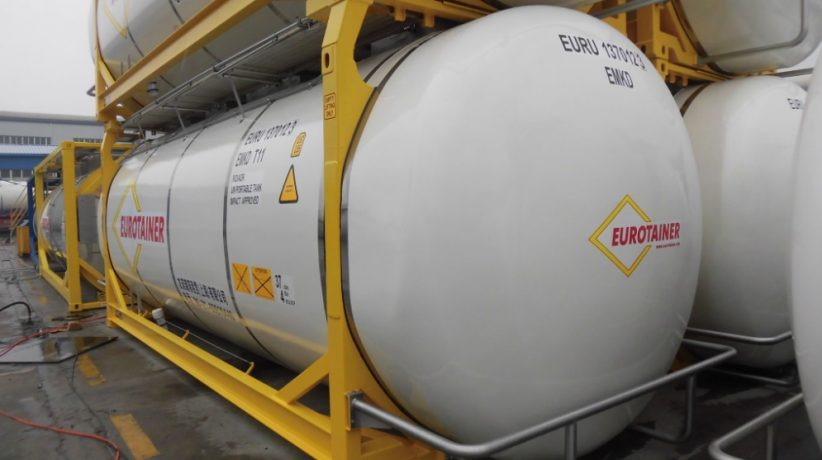 Eurotainer adds swap tanks for China